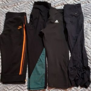 Bundle of 4 work out pants